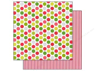 Doodlebug Paper 12x12 North Pole Jolly Lollies (25 piece)