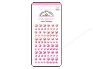 Doodlebug Sticker Mini Pearls Cupcake