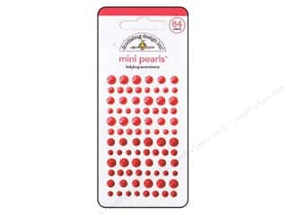 Doodlebug Sticker Mini Pearls Ladybug
