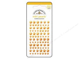 Doodlebug Sticker Mini Pearls Bumblebee