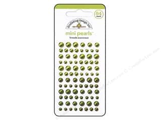 Jewelry Making Supplies Doodlebug Sticker: Doodlebug Pearls Mini 84 pc. Limeade