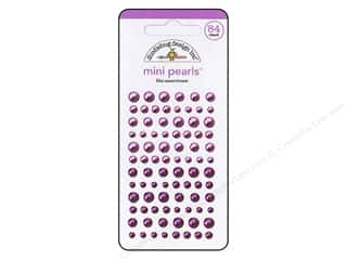 Doodlebug Sticker Mini Pearls Lilac