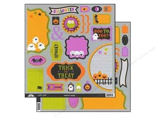 Doodlebug Cute Cuts Die Cut Haunted Manor (12 piece)