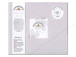Doodlebug Album Storybook Grey 12&quot;x 12&quot;