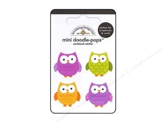 Doodlebug Sticker Mini Doodle Pops Wise Guys