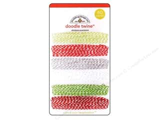 Doodlebug Doodle Twine Assorted North Pole 6pc