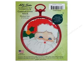 M.C.G Counted Cross Stitch Kit Mini Santa
