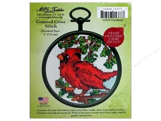 M.C.G Counted Cross Stitch Kit Mini Cardinal