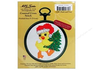 M.C.G Counted Cross Stitch Kit Mini Duck and Tree