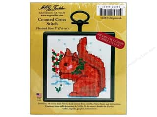 M.C.G Counted Cross Stitch Kit Mini Chipmunk