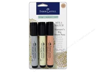 Faber Castell FaberCastell Stampers Big Brush Pen: FaberCastell Stamper's Big Brush Pen Mix & Match Set Subtle