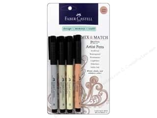 FaberCastell MM Pitt Artist Pen Set Subtle