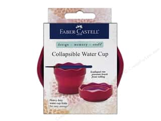 Cups & Mugs Brown: FaberCastell Collapsible Water Cup