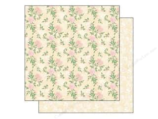 Clearance Best Creations Paper 12x12: Best Creation Paper 12x12 Blossoming Time Roses (25 piece)