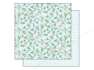 Chipboard Sheets: Best Creation Paper 12x12 Blossoming Time Charming (25 piece)