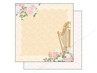 Best Creation Printed Cardstock: Best Creation 12 x 12 in. Paper Blossoming Time Collection Melody (25 pieces)