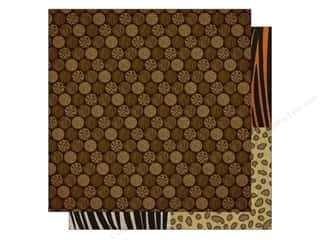 Best Creation 12 x 12 in. Paper Wild Life Safari Dots (25 piece)