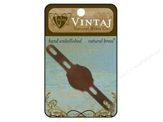 Metal Vintaj: Vintaj Blanks Regal Ring & Bracelet Natural Brass