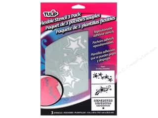 Weekly Specials Stenciling: Tulip Fabric Stencil Flexible Stars