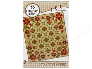 Gingham Girls Quilting Patterns: Gingham Girls My Corner Garden Pattern