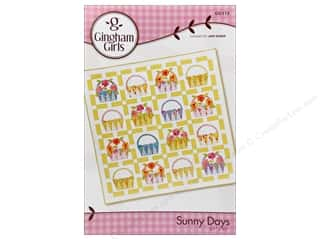 Gingham Girls Flowers: Gingham Girls Sunny Days Pattern