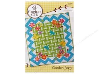 Gingham Girls Borders: Gingham Girls Garden Party Pattern