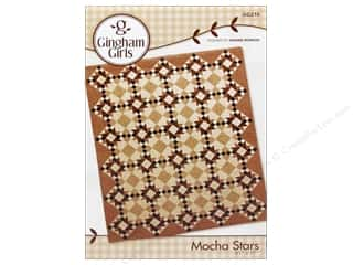 Gingham Girls Quilting Patterns: Gingham Girls Mocha Stars Pattern