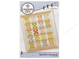 Borders $5 - $9: Gingham Girls Spoolin Around Pattern