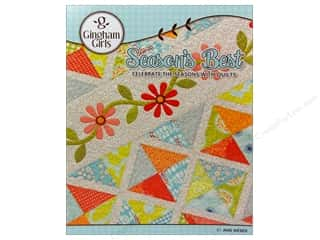 Books & Patterns $20 - $40: Gingham Girls Season's Best Book