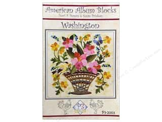 American Album Block Washington Pattern