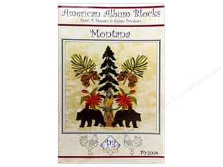 American Album Block Montana Pattern