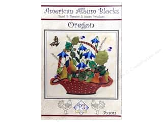 American Album Block Oregon Pattern