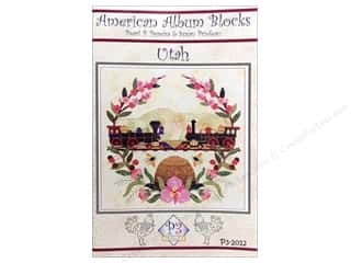 American Album Block Utah Pattern