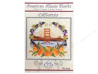 American Album Block California Pattern