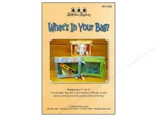 Purses Clear: Stitchin Sisters What's In Your Bag Pattern