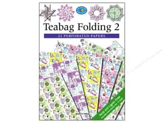 Bazooples Paper Craft Books: Search Press Teabag Folding 2 Book