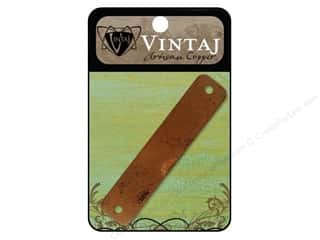Vintaj Blanks ID Bracelet 2.75&quot; Artisan Copper