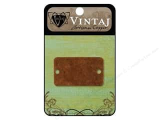 Vintaj Blanks Rectangle Bracelet Artisian Copper