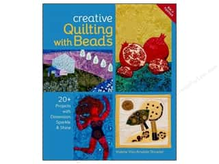 Clearance Blumenthal Favorite Findings: Creative Quilting With Beads Book