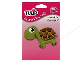 Tulip Iron On Applique Medium Turtle