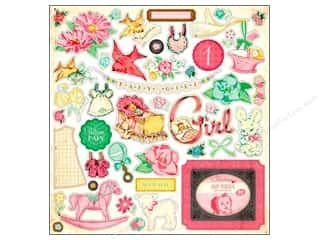 Crate Paper Stickers Little Bo Peep Chipboard