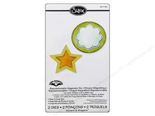 Karen Foster Designs 12 in: Sizzix Movers & Shapers Magnetic Die Set 2PK Star & Circle by Karen Burniston