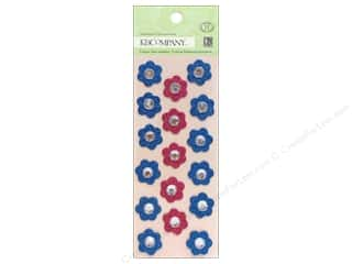 K&Co Adhesive Chipboard SW Floral Gems