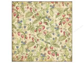 K&Co Paper 12x12 SW Floral Berries (25 piece)