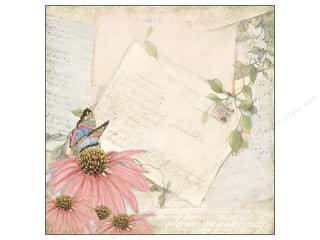 Clearance Blumenthal Favorite Findings: K&Company 12 x 12 in. Paper Floral Sheet Music (25 piece)