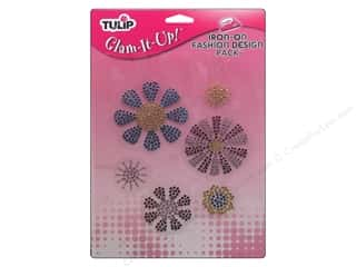 Tulip Irons: Tulip Iron On Glam It Up Fashion Design Large Flowers