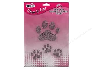 Tulip Iron On Glam It Up Fashion Design Large Paws