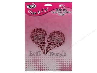 Irons Clearance: Tulip Iron On Glam It Up Fashion Design Large Best Friends