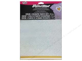 Tulip Fashion Glitter Sheet 8.5 x 11 in. Gold/Silver