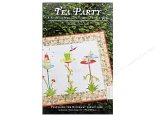 Lauren & Jessi Jung Designs Flowers: Lauren & Jessi Jung Tea Party Pattern